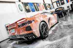 You'll agree that a luxury wash will leave your vehicle looking crisp