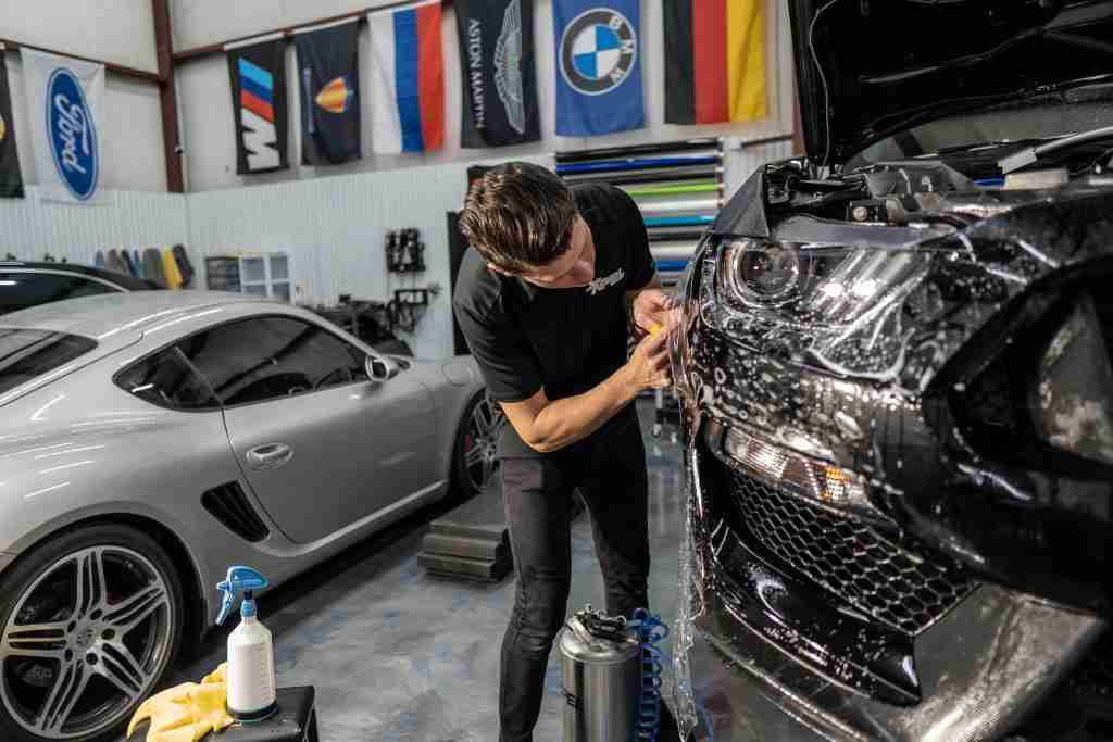 Trust our technicians to apply paint protection film from Xpel