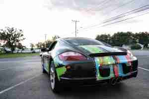 Our trained technicians can give your vehicle a vinyl wrap to help you stand out amongst the crowd