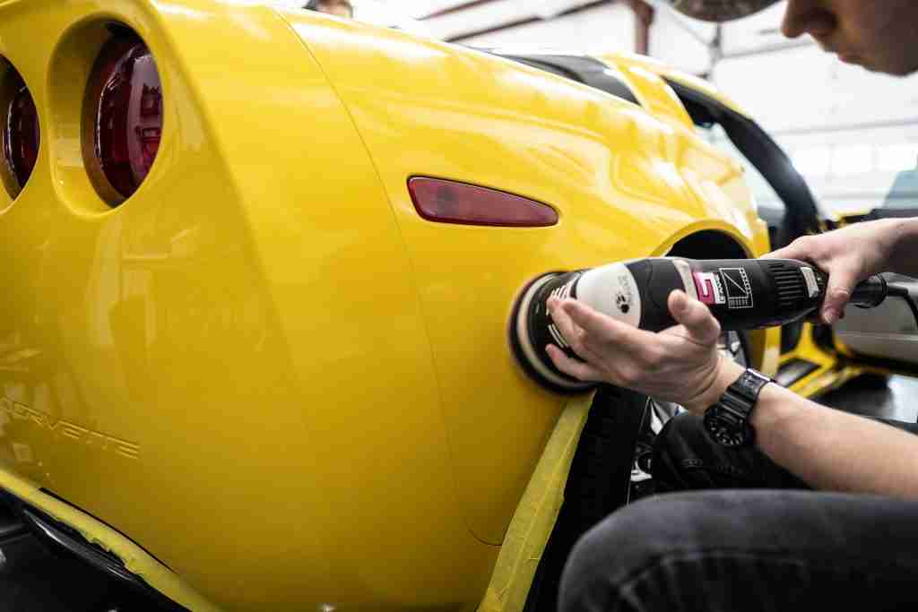 paint correction is a process that requires highly skilled hands