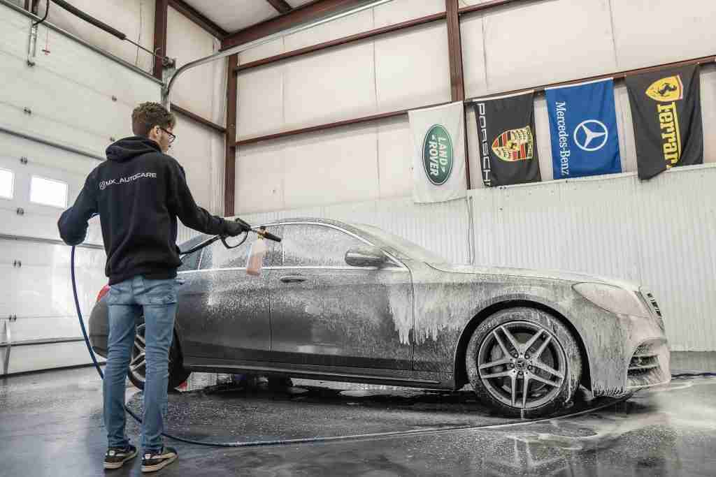 a luxury wash in the hands of trained professionals will last much longer than an automatic or at home wash