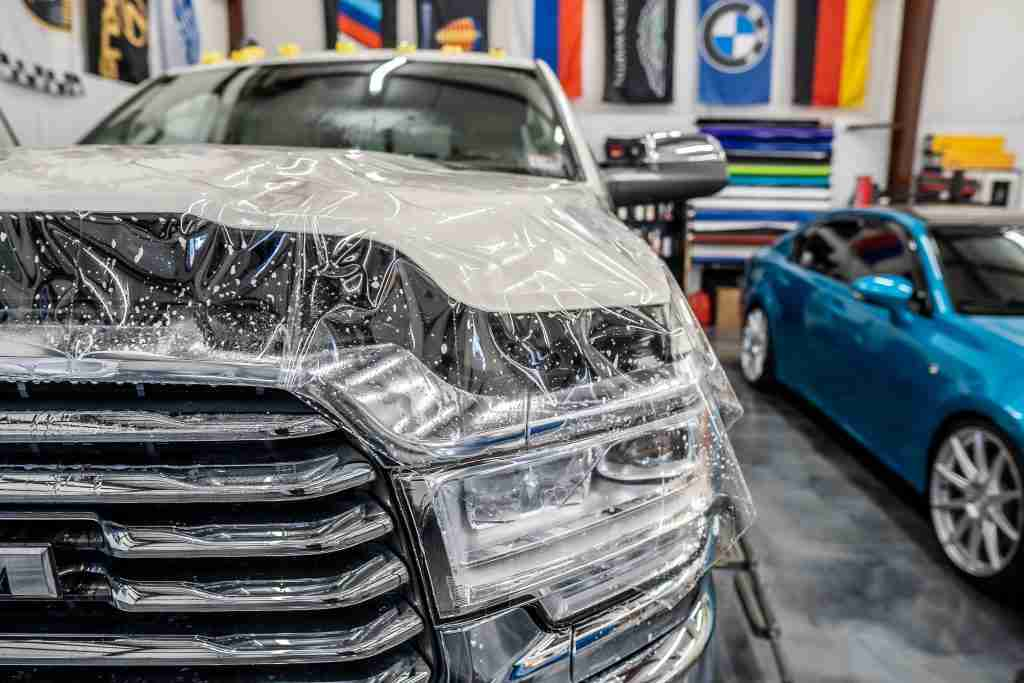 Guard against rocks flying into your bumper with paint protection film from Xpel!