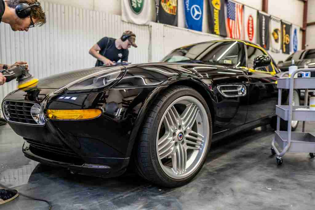paint correction can give your paint a mirror like shine