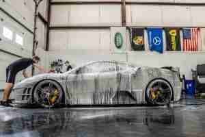 A good wash is the first step in our maintenance detail service