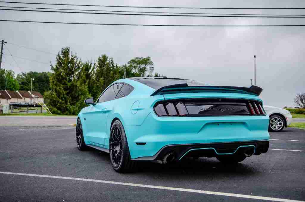 A vinyl wrap can give your vehicle a look that will turn heads