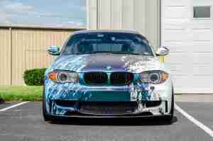 A vinyl wrap is a simple way to give your vehicle a custom look