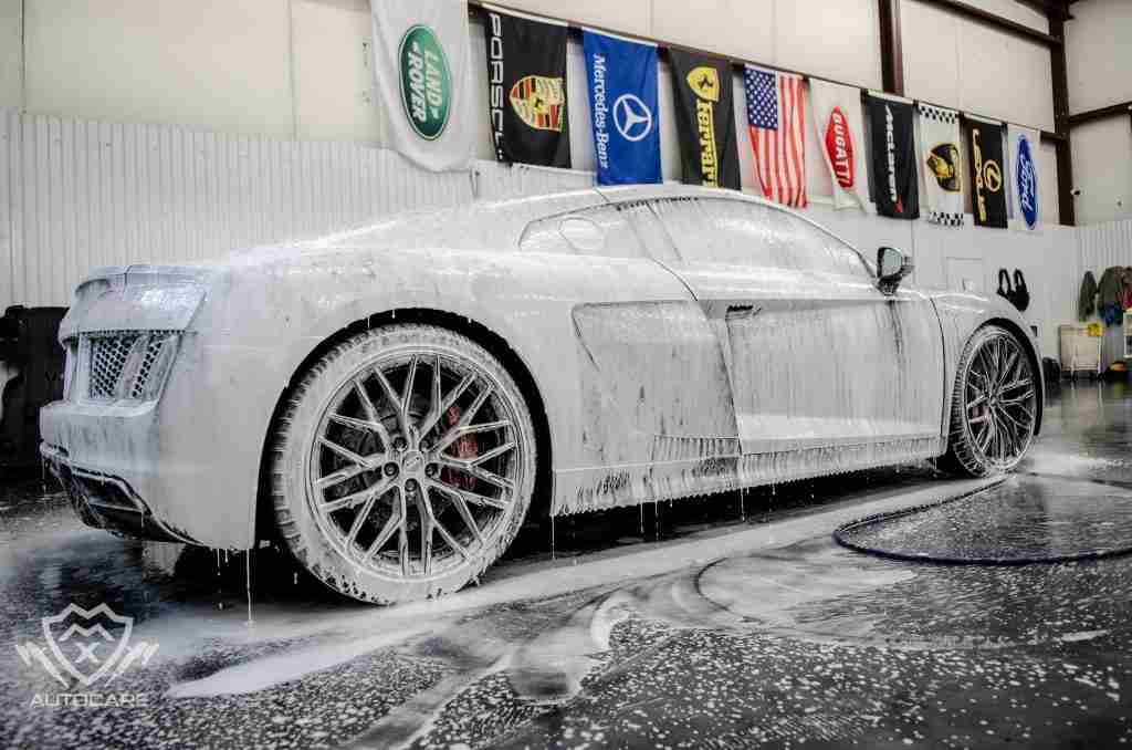 luxury wash: your vehicle deserves better than an automatic wash