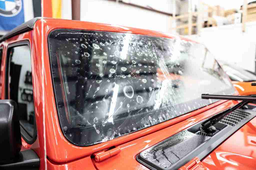 Windshield protection film is an insurance policy against rock damage