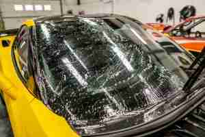 Apply windshield protection film and have peace of mind against expensive damage!